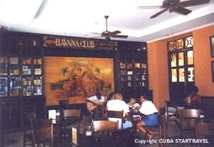Cuba Startravel Bar Havana Club